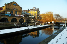 Camden Town, Hampstead Road Lock, London © Julian Osley
